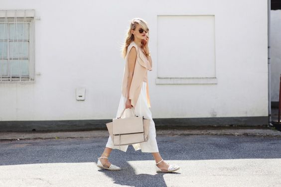 Going flat & wide culottes -