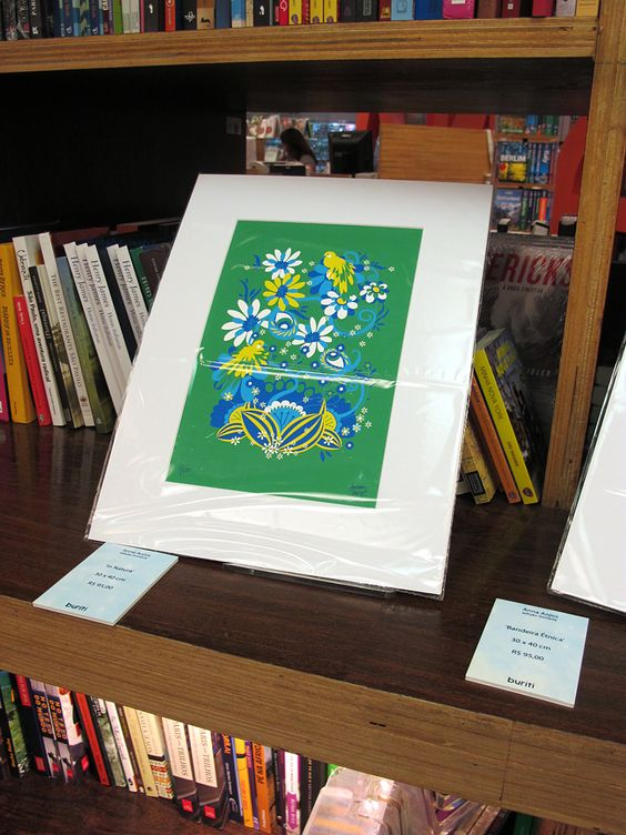 """Colours of Brazil"" Exhibition (Cores do Brasil) - Livraria Cultura, Sao Paulo, Brazil"