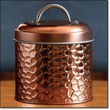 Autumn Romance Container-Small Metal