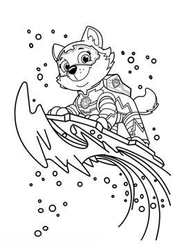 Kids N Fun 24 Kleurplaten Van Paw Patrol Mighty Pups Lustige Malvorlagen Ausmalbilder Paw Patrol Ausmalbilder