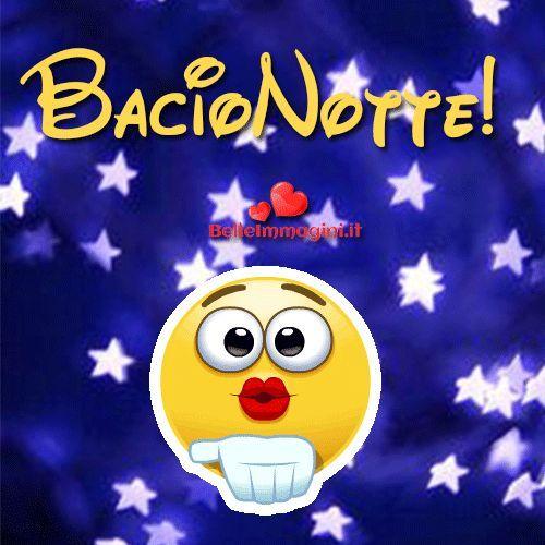 Buonanotte Bacio Belle Immagini Per Whatsapp Love Gif Emoticon
