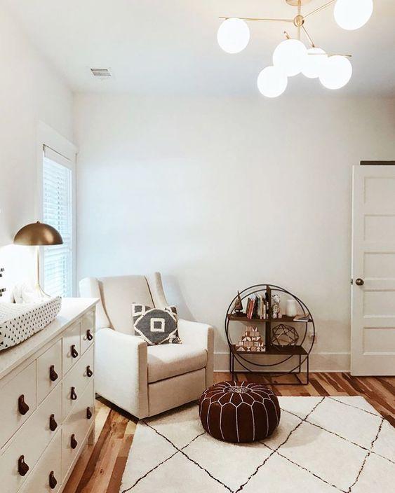 "@babyletto on Instagram: ""☺️warm and cozy corner 👌🏼 • #babyletto Kiwi glider • 📷: nursery designed by mama @thejensheehan 💕"""