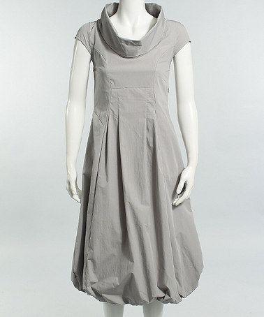 Another great find on #zulily! Oyster Funnel Collar Bubble Dress by Karen Klein #zulilyfinds