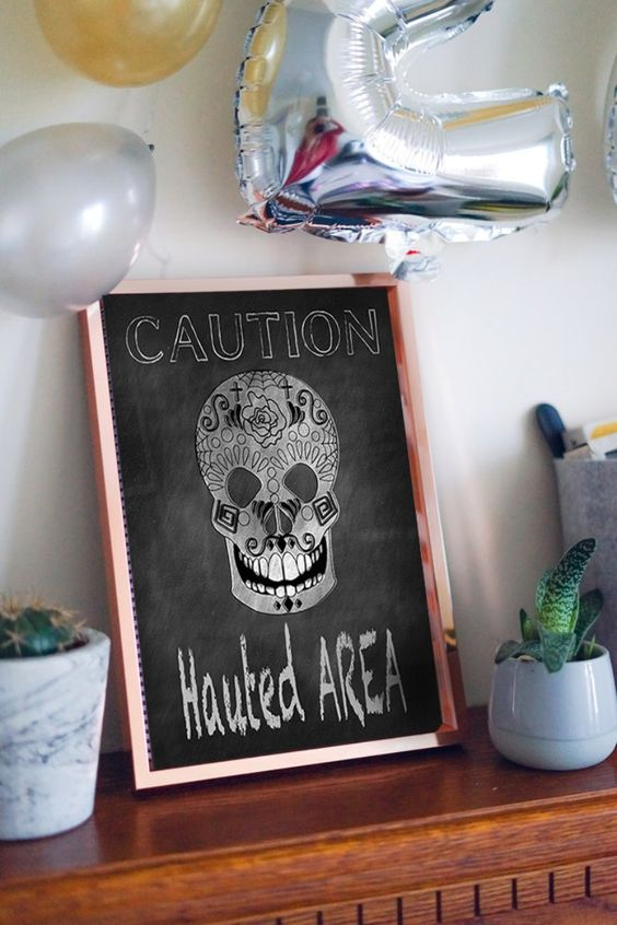 Free Printable Spooky Halloween Sign / Printable Halloween decor / halloween decorations/halloween party/halloween crafts/ DIY halloween/halloween art/halloween Ideas/halloween aesthetics/halloween cookies/ halloween printables/halloween printable signs/ halloween party invitations / halloween printable coloring pages/halloween printable banner/ halloween printable activities/