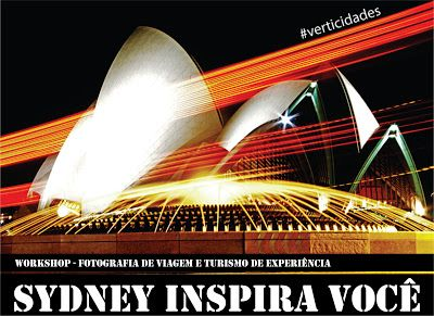 Sabores do Cinema: WORKSHOP >> SYDNEY INSPIRA VOCÊ
