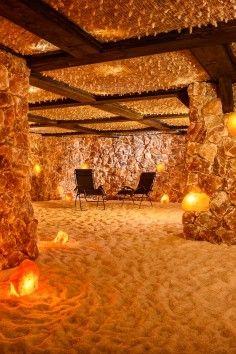 SALT.  Santa Barbara.  Underground Himalayan Salt Caves | Yoga Classes, too.