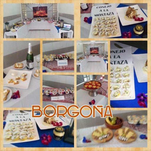 Borgona gastronomy