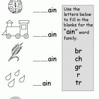 Printables Phonics Worksheets Grade 1 printable grade 1 phonics ain kids worksheets free worksheets