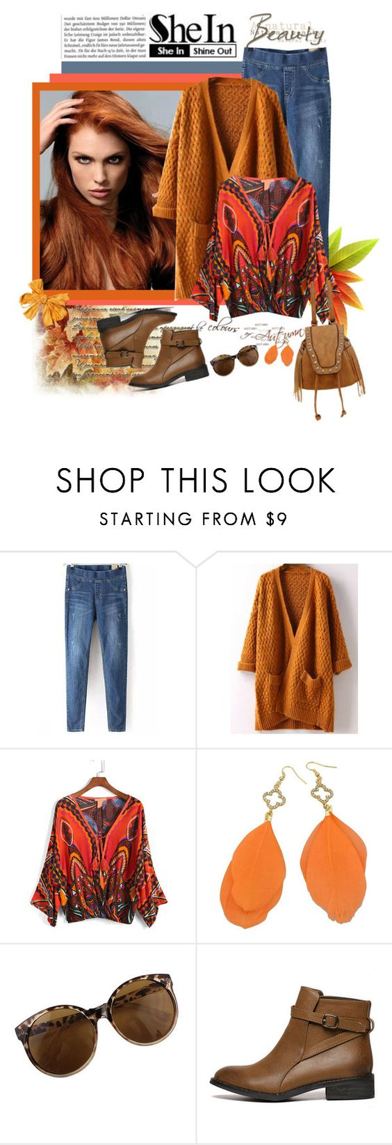 """""""SheIn 337."""" by carola-corana ❤ liked on Polyvore featuring mode, vintage et shein"""
