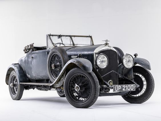 Vintage Bentley discovered in London house | Classic and Sports Car