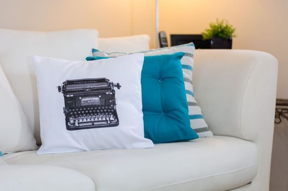 Tu Organizas.: Almofadas sem costura - Faça você mesmo