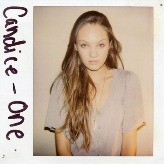 21 Polaroid Photos Of Supermodels Before They Were Famous - Airows