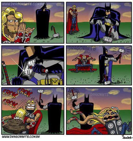 That's why we love Batman.