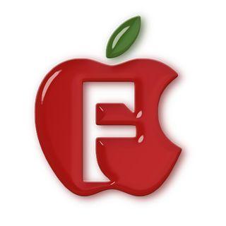 Alfabetos Lindos: alfabeto maçã colorido