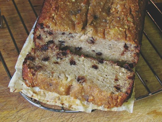 Paleo Banana Bread. This looks super yummy. Have to try it.