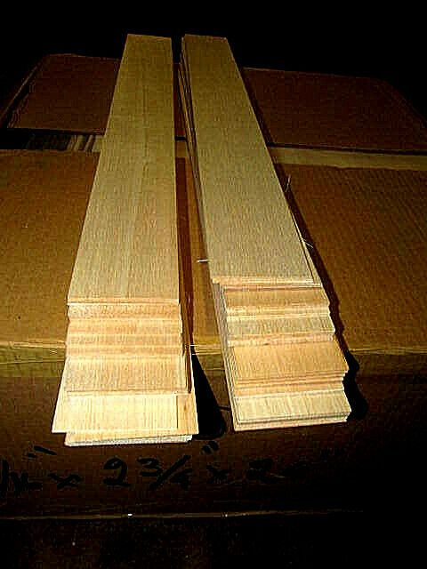 85 Pieces Thin Sanded Balsa Sheet 30 X 4 X 1 4 Lumber Wood Model R C Wood Model Wood Lumber