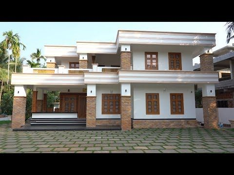 Brand New Premium Double Story Home With Classy Interior Video Tour Youtube In 2020 Storey Homes House Styles Modern House Design