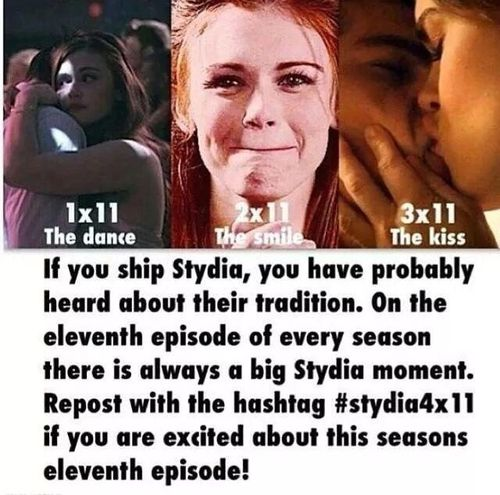 Stydia fanssss.......Not gonna lie not much of a Stydia fan tho I favor it over Stalia .....but i saw this & now i can't wait for 4x11 :)