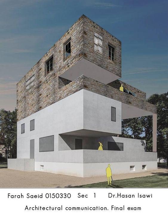 Farah Saeid Architectural Communication Skills- مهارات اتصال معماري الامتحان النهائي-2018