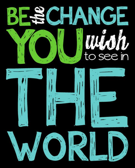 Motivational Quotes Teenagers: Be The Change, Quotes Motivation And Classroom On Pinterest