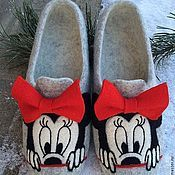 Обувь ручной работы домашние тапочки