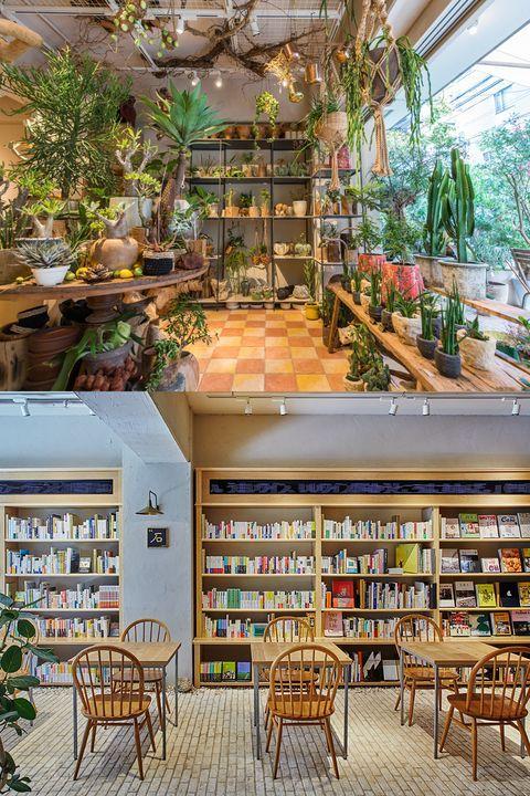 アーバングリーンな複合型店舗 The Garden が中目黒にオープン 建築資材 グリーン テラス席