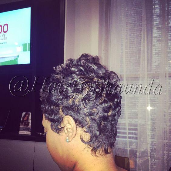 Hair By Shaunda Short Hairstyle For Black Women Betty