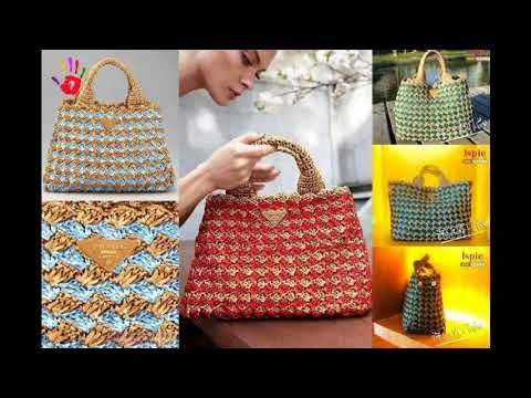 Bayanlar Icin Degisik El Orgusu Canta Modelleri Resimli Youtube Purses And Bags Knit Purse Crochet Bag