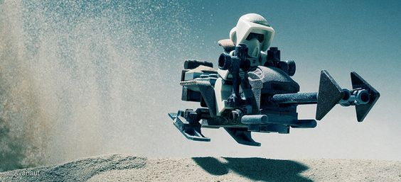 Gavin Rothery - Directing - Concept - VFX - Gavin Rothery Blog - Avanaut's Take On Star WarsLego