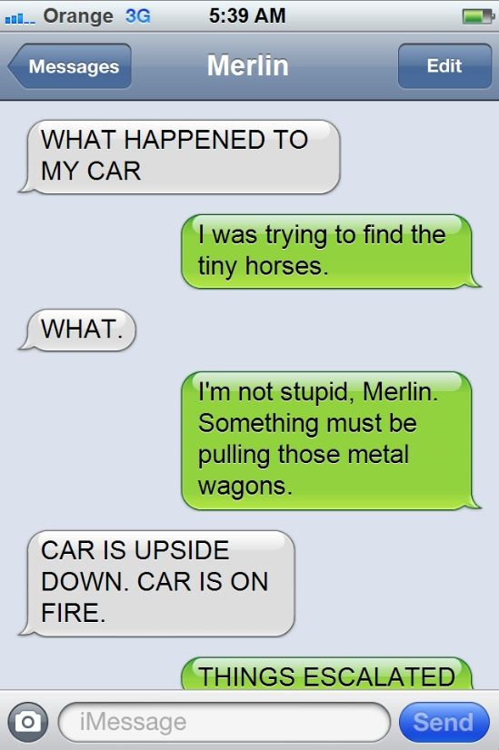 Texts From Arthur to Merlin
