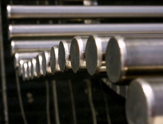 Steel Bench by Bob Balmer