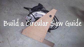 DIY Circular Saw Guide - YouTube