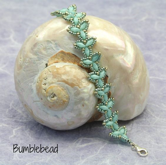 Elven Bracelet Tutorial A Beadweaving Pattern by BumblebeadCrafts