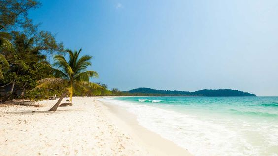 Hòn đảo cuối cùng trong chuyến đi là Koh Rong