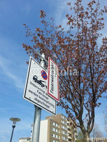 Parkverbot Abschleppen