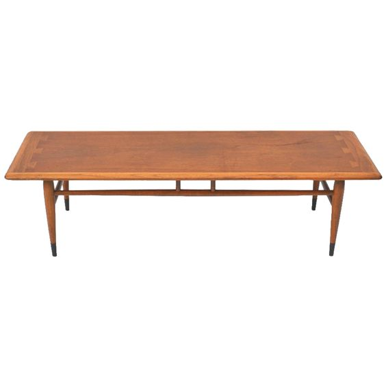 1stdibs | Mid Century Walnut Coffee or Cocktail Table by Lane