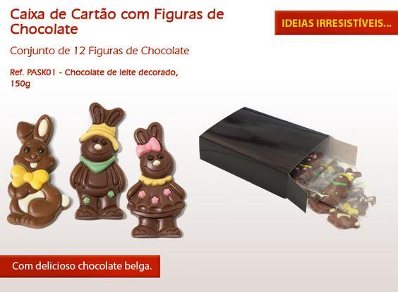Coelhinhos de chocolate, bombons recheados, cupcakes... Já escolheu o seu docinho para esta Páscoa?