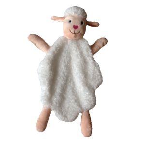 lamb doll security blanket