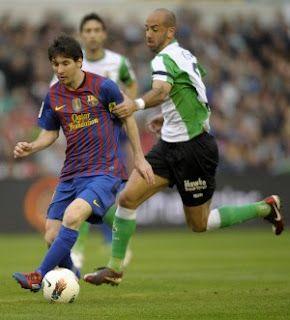 Messi vs Racing de Santander   2012