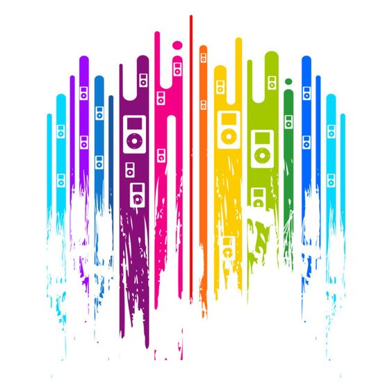 Color is Music is a T Shirt designed by Moncheng to illustrate your life and is available at Design By Humans