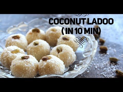 Instant Coconut Ladoo With Condensed Milk Madhu S Everyday Indian Recipe Condensed Milk Recipes Easy Indian Dessert Coconut Ladoo Recipe