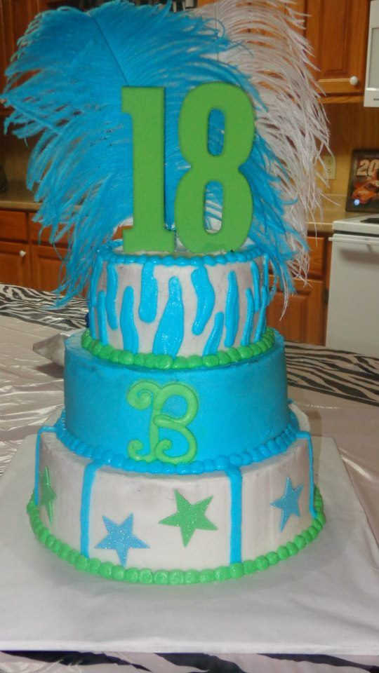 Sheet Cake Designs For 18th Birthday : 18th birthday cake My Cakes Pinterest Birthday cakes ...