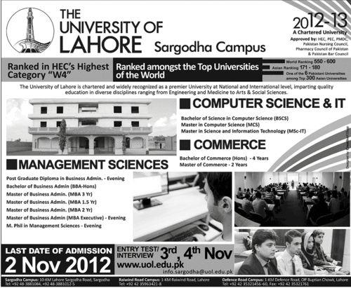 Bahria University Medical And Dental College Karachi Admissions