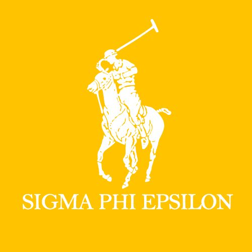 Sigma Phi Epsilon, Polo Design, T-Shirt *All designs can be customized for your organization or chapter's needs!