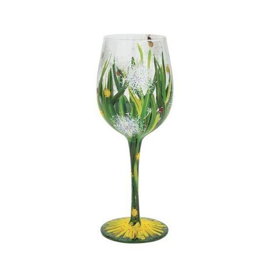Lolita Dandelion Wine Glass at The Paper Store