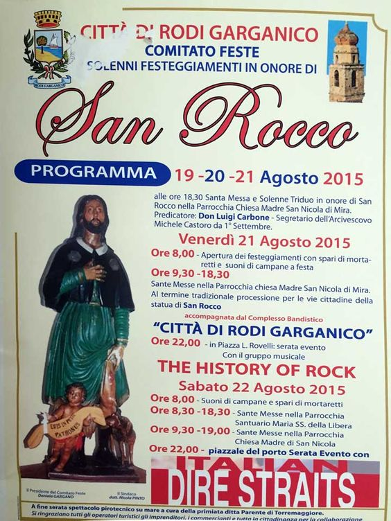 Rodi Garganico festeggia San Rocco - http://blog.rodigarganico.info/2015/eventi/rodi-garganico-festeggia-san-rocco/