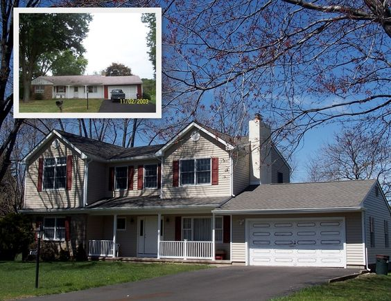 Second floor addition floors and 2nd floor on pinterest for Second floor addition before and after