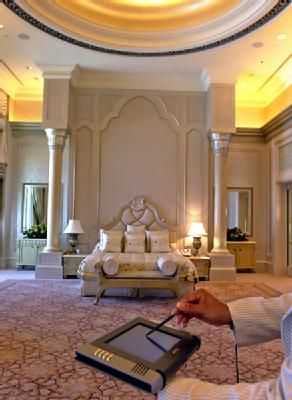 The Emirates Palace in Abu Dhabi offered a 1.5 million seven-night package last year at its palace suites and included first-class return tickets, use of a private jet and spa treatments.
