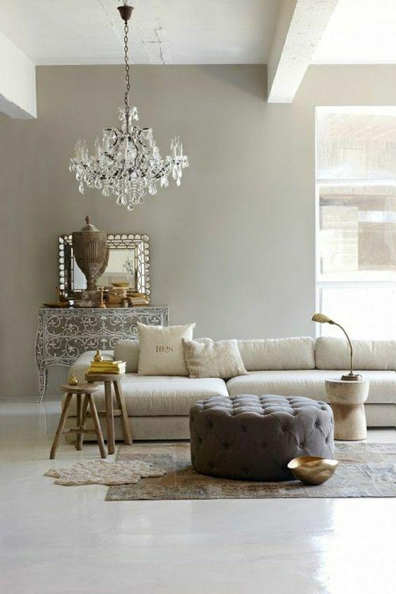 Comment incorporer la couleur gr ge id es en photos baroque taupe et salons - Couleur grege et taupe ...