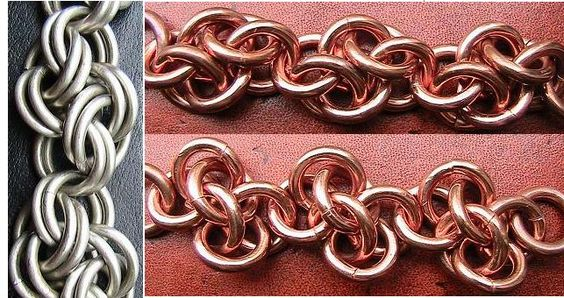 Cloud Cover Chain Maille Weave tutorial